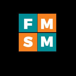 Five Minute Social Media Logo - Black